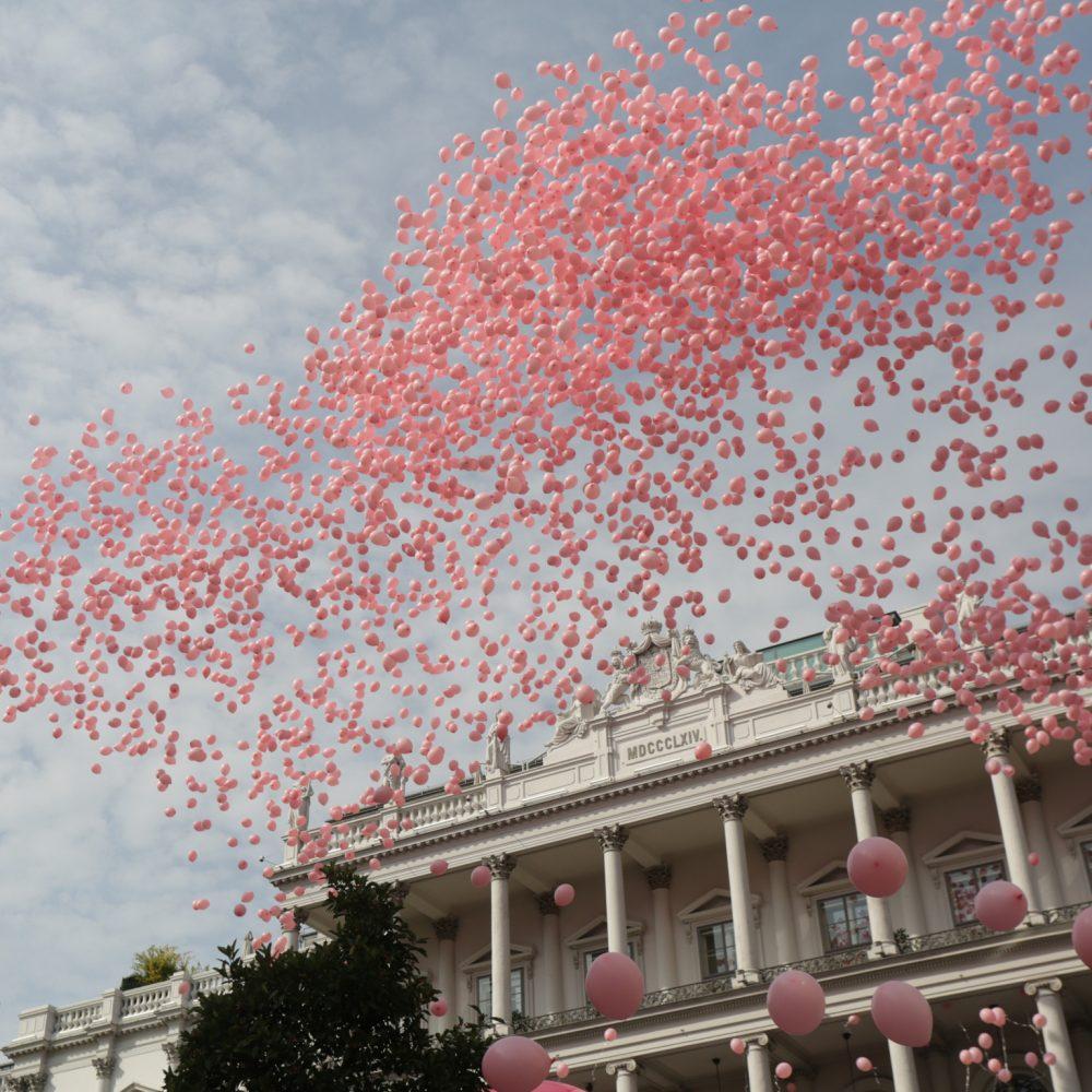 """Jubiläumsveranstaltung """"25 Jahre Pink Ribbon international – 15 Jahre Pink Ribbon in Österreich"""", September 2017, Palais Coburg, Wien"""