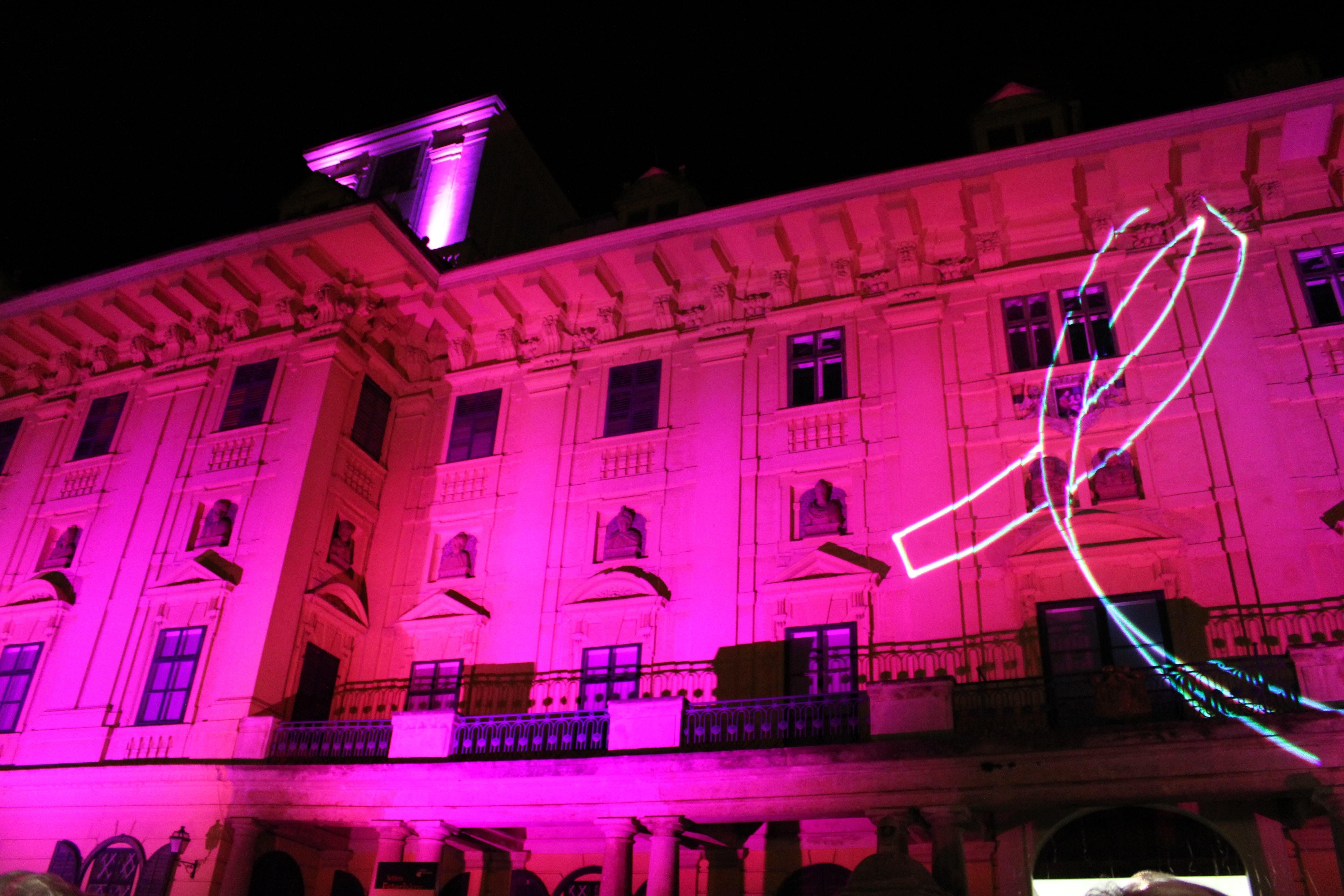 Castle Esterhazy 2 Austria Illum Oct 2010